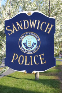 Sandwich Police Department Sign