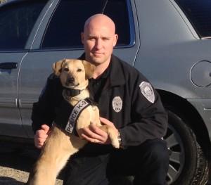 Koda 2012 First Narcotics Canine